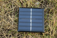 62*120mm 0.75W 3V Mini Solar Panel Epoxy Resin Solar Panel