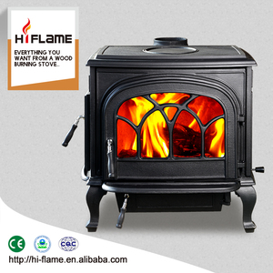 Chinese antique double doors cast iron smokeless wood burning stove for sale