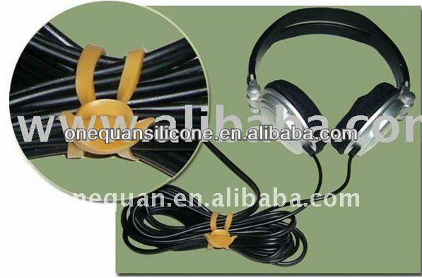 factory supply indurstrial achor shape yellow rubber bands