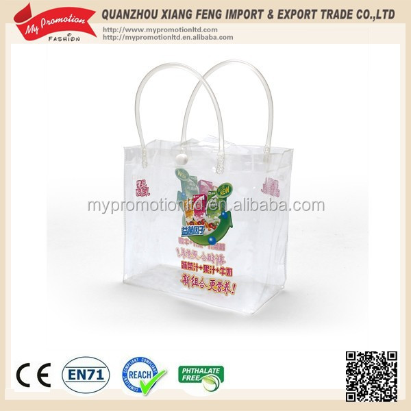 Nice Quality transparent pvc gift bags wipes pouch for Baby Pvc Bag
