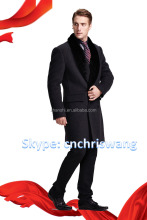 High quality 100% cashmere coats for men