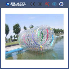 New design and high quality inflatable ball and roller stand, water roller ball