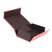Collapsible rigid cardboard boxes packaging paper box gift