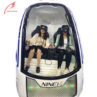 Popular Roller Coaster For Sale Funny 9D Movie Theater Motion Simulator VR Capsule