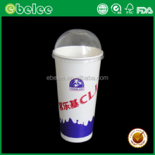 Disposable variety size fountain paper cup soda drink paper cup