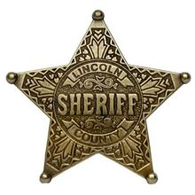 custom metal star shape design badges