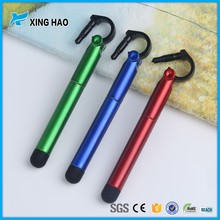 Novelty promotion cheap advertising ball pen with logo metal extendable pen