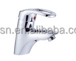 LongRun Chrome plating single level brass basin/bathroom faucet