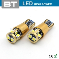 Best Price 10SMD3030 T10 Canbus LED Light w5w 5w led canbus