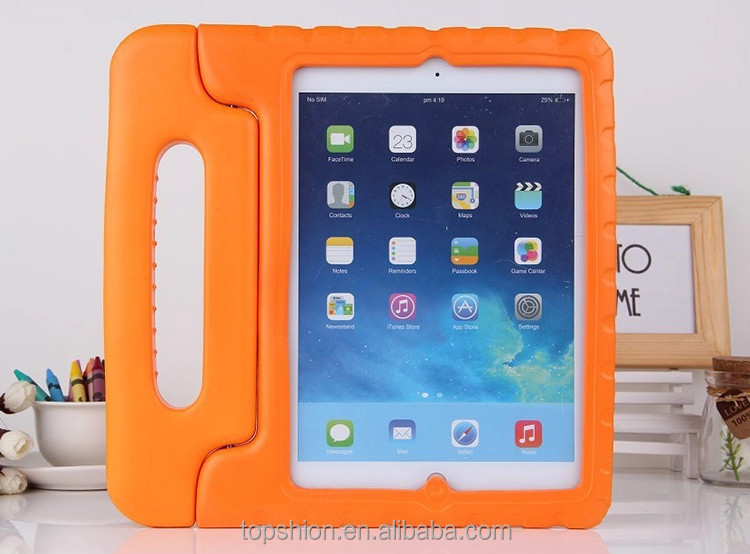 100% No Harm Hot Sale For iPad EVA Foam Case Handle Shockproof Cover, Perfect For Kids