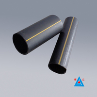 Supplier HDPE yellow gas pipe / indoor gas transportation pipe factory price