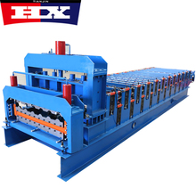 2018 hot sales used metal roof tile roll forming machine double layer steel wall panel making machine