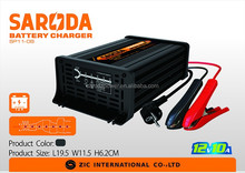 SARODA Car trickle battery charger 12V 10A,7 stage automatic charging with CE,CB,RoHS certificate
