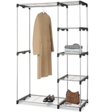 NSF Closet Organizer Storage Rack Portable Wire Layer <strong>Shelf</strong>