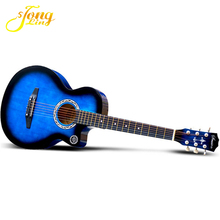 Provide All Kinds Of Colorful Acoustic Guitar For Beginner