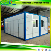 Modular temporary site office container