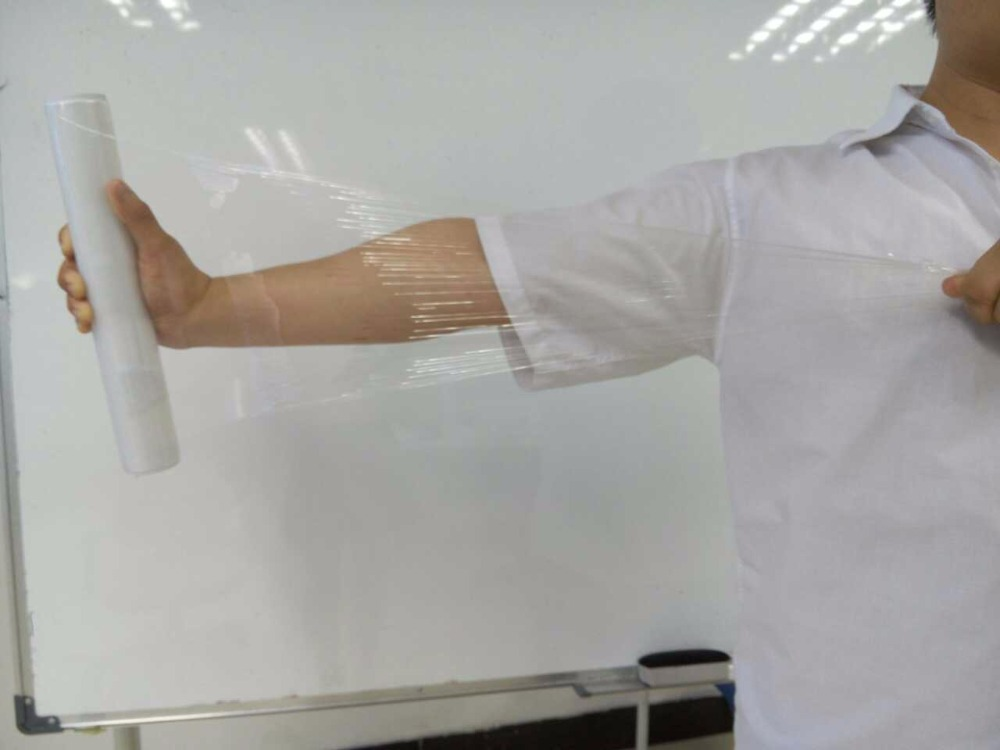 Hand Stretch Wrap Film, PE Cling Film strech film jumbo roll