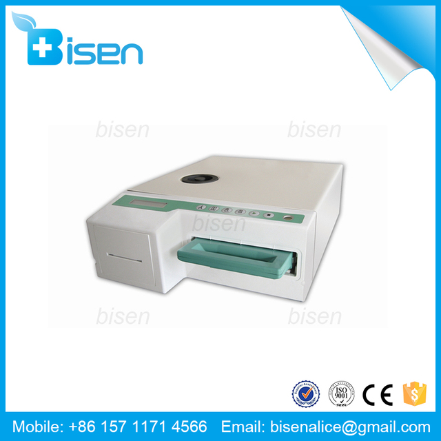 BS-KS18 1.8l Brand New Holder Can Be Locked Dental Cassette Steam Sterilizer Statim G4 5000 With Low Price