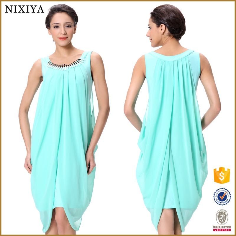 beadings neck two piece dress clothing wholesale companies