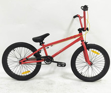 Professional cheap carbon steel single speed 20 inch bmx bike