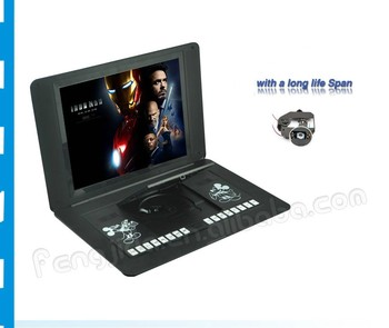 17.3 inch LCD dvd player with 90 degrees
