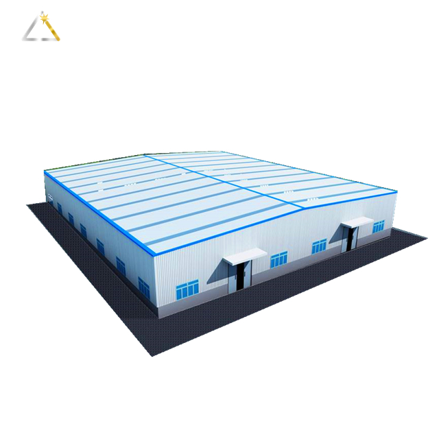 Cheapest Light Prefabricated Steel Warehouse For Sale