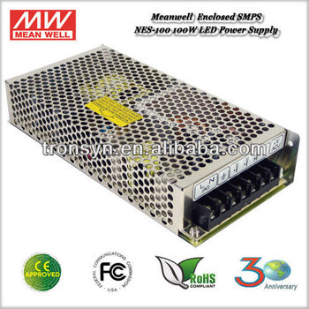 Meanwell NES-100-12(100W 12V) Enclosed Switching Power Supply,MeanWell LED Driver,100W 12V Power Supply