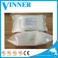 Hospital sanitary ethyl 75% alcohol wipe antiseptic wipes for hospital (OEM&ODM Welcomed)