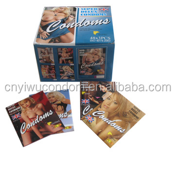 OEM types of big dotted condoms with pictures female condoms