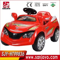 Child remote control car high power driving kid car with music kids ride on car whee HT-99836