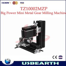 High accuracy big power Mini metal gear milling lathe TZ10002MZP 20000rpm per minute with dividing plate