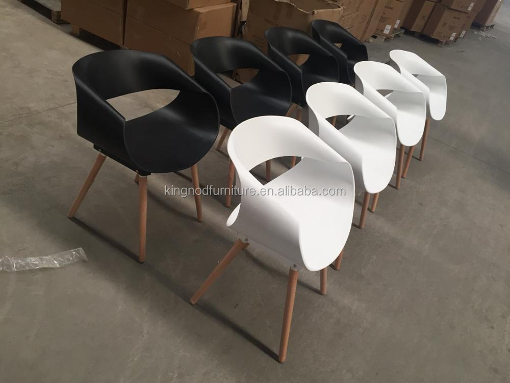 Egg Rolls Leisure Garden Dining Chair Pp Plastic Chair