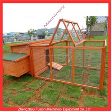 Outdoor large wooden chicken coops for laying hens