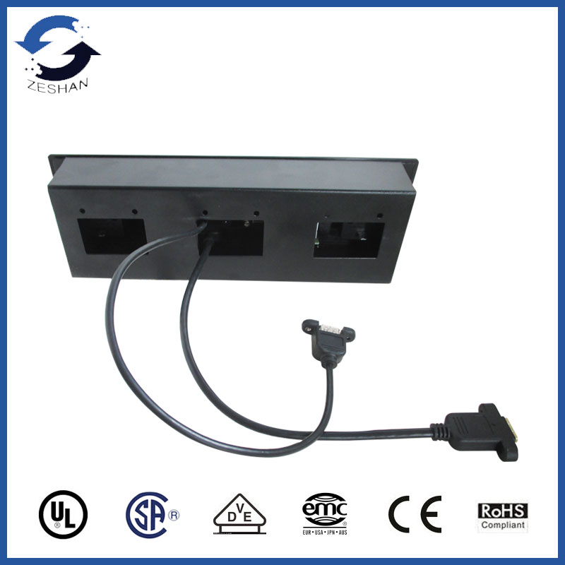 BGJD-4W06 Multi-media Controlling Socket with HDMI and VGA for Top-grade Hotel