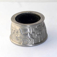 Stainless Steel horse embossed design Wine Ring,Wine Collar