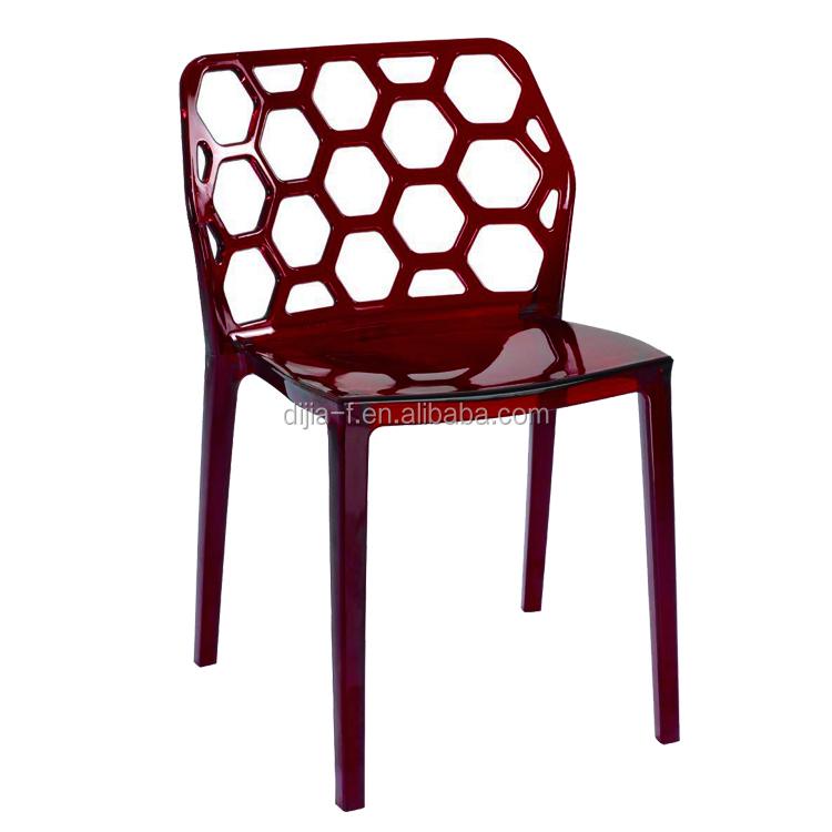 Muebles para el hogar silla de comedor de pl stico for Sillas comedor plastico