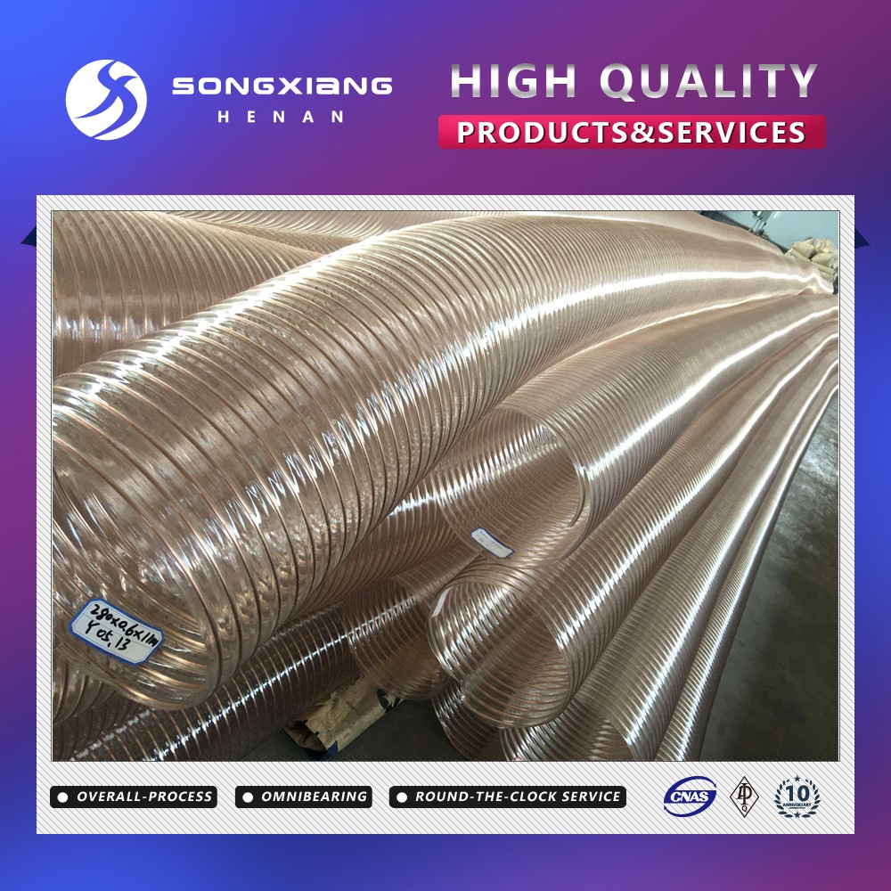 Hot sell air tubes for ducting/pu tubing