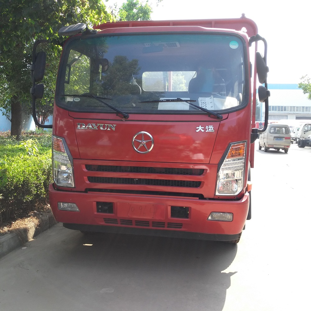 High quality DAYUN 4x2 8ton 3 ton used flatbed truck weight light flatbed truck for sale