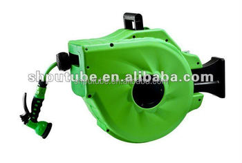 20m The newest AUTOMATIC HOSE REEL for gardening