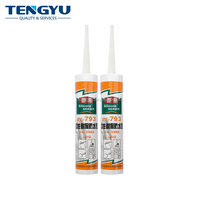 High performance silicone sealant for mirror sunroom weatherproof no corrosion