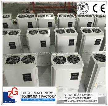 40KW IGBT High Frequency Electromagnetic Induction Heater:energy-saving air-cooled main control