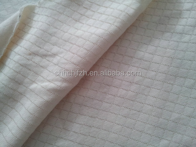polyester cotton quilted checked fabric