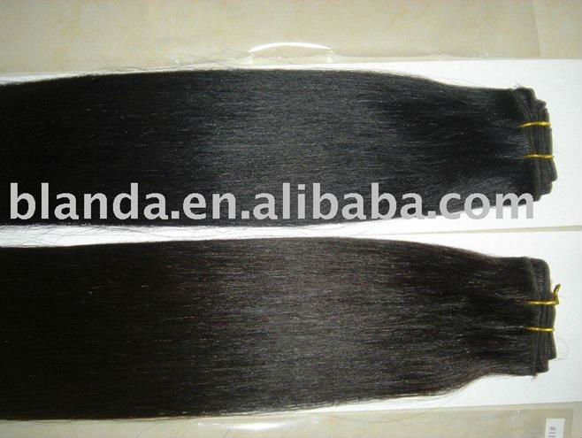 white silky straight brazilian human hair weaving hair weft