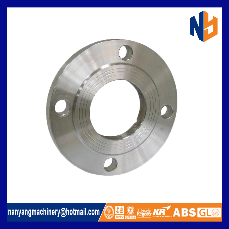 Stainless steel high pressure plate flange