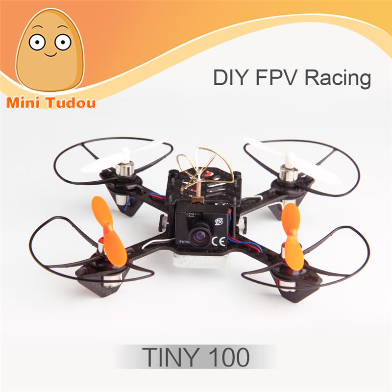 Minitudou 2016 DIY fpv racing mini drone Coretex RC Tiny 100 flight control compatible with PPM, DSM, SBUS