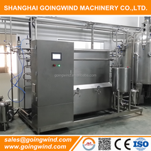 Hot sale automatic juice milk pasteurizer and homogenizer plant machines good price for sale