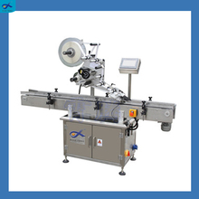 304 stainless steel label sticker round bottle labeling machine with printer