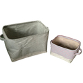 Wholesale high quality custom household dirty clothing storage basket foldable fabric laundry hamper