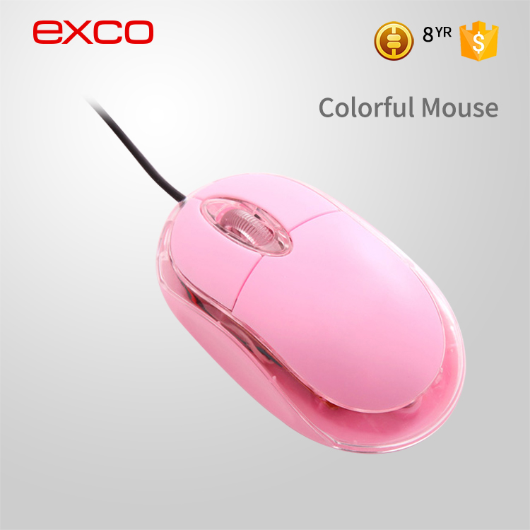 EXCO high quality cheap 3D optical brand name computer computer gaming mouse driver