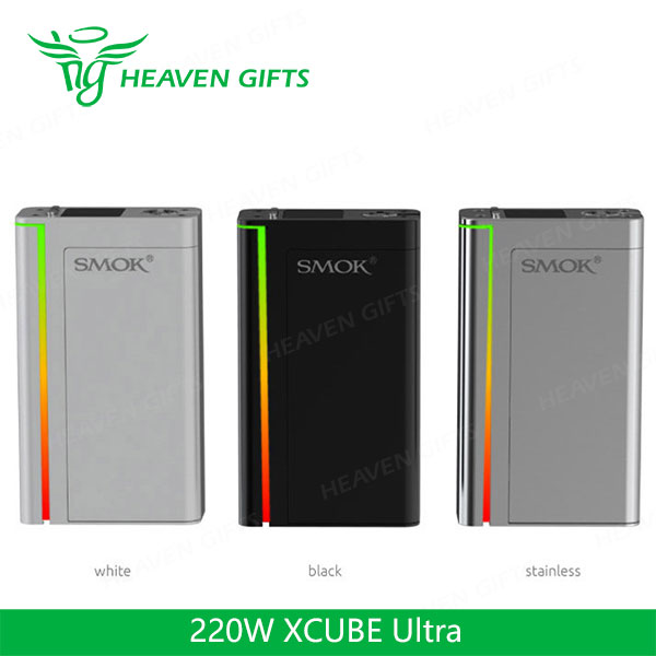 Best E Cigarettes 220W SMOK XCUBE Ultra TC Bluetooth MOD Vaporizer